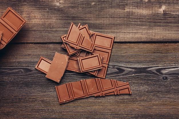 Шоколадный фон