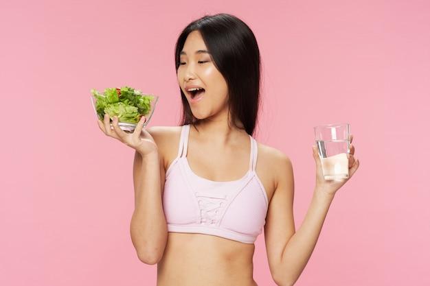 Азиатская повелительница еды здоровая