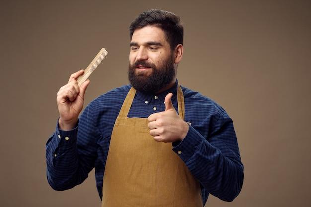 Мужской парикмахер и парикмахерская