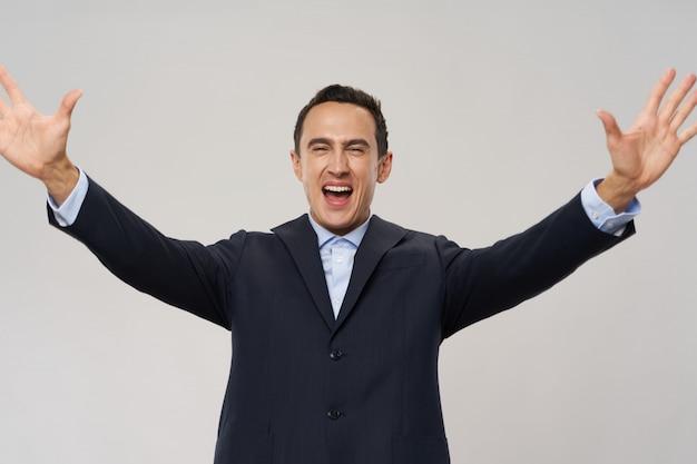 Человек деловой костюм эмоции на разные годы