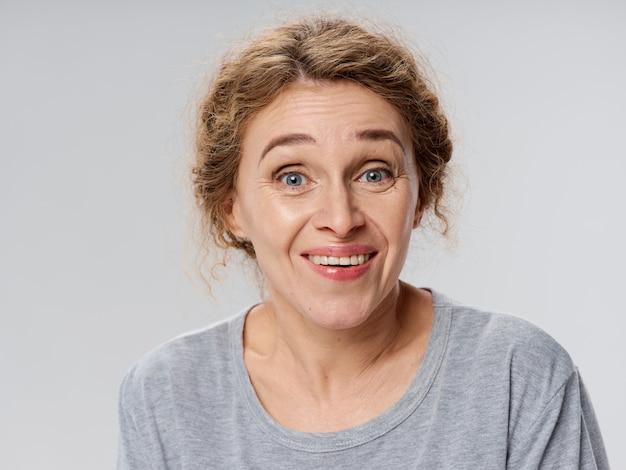 Портрет женщины в зрелом возрасте