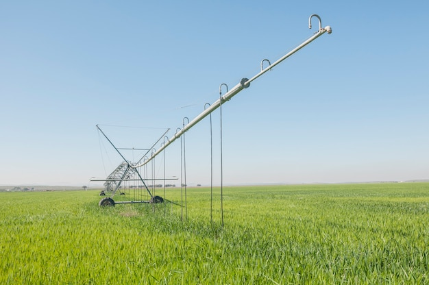 電動スプリンクラー灌漑