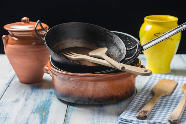 Кухонная утварь старая