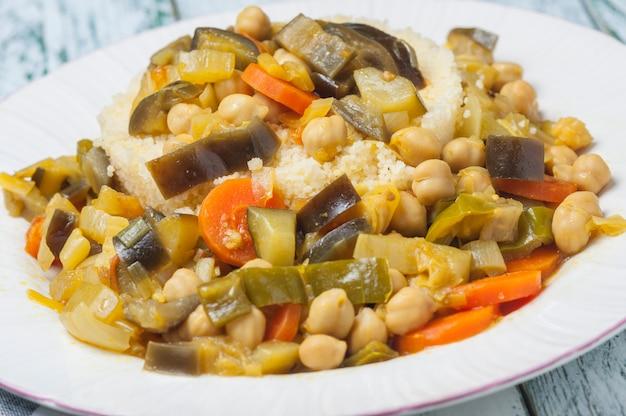 Кус кус с овощами