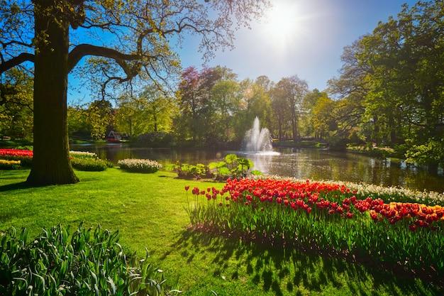 キューケンホフフラワーガーデン。リッセ、オランダ。