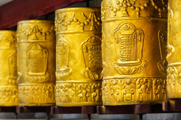 タボ修道院の祈りの輪