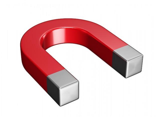 分離された馬蹄形磁石