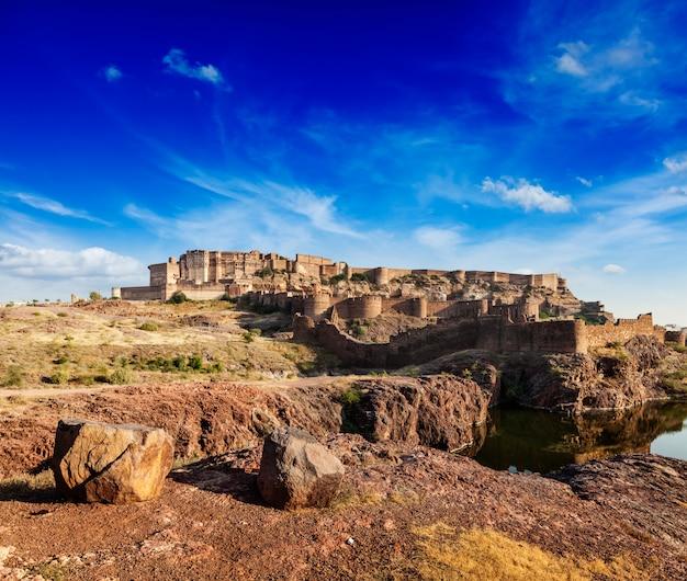 メヘラーンガル砦、ジョードプル、ラージャスターン州、インド