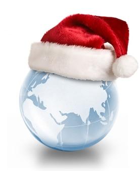 Рождественская планета концепция