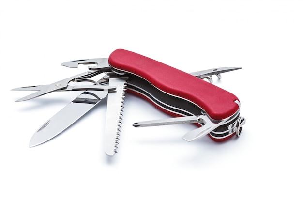 分離されたスイスアーミーナイフ