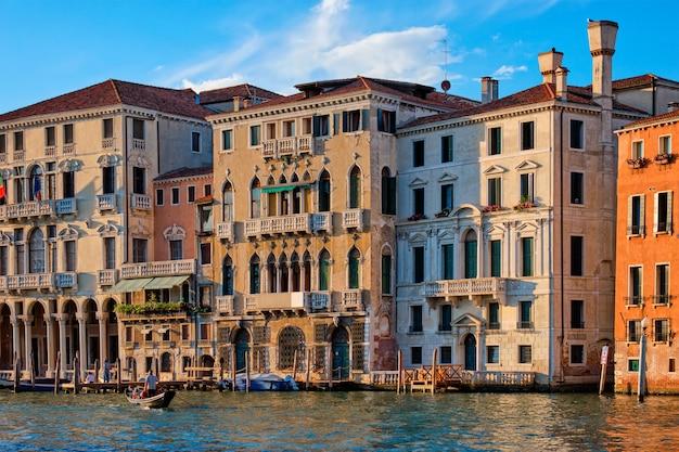 Большой канал в венеции, италия