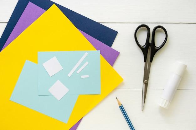 Изготовление детской поздравительной открытки на день отца