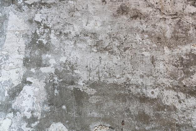 スクラッチ、クラック、ほこり、割れ目、粗さ、スタッコが付いた古いコンクリートの壁のテクスチャ。ポスターやデザインの背景として使用できます。テキストメッセージ用のコピースペース。