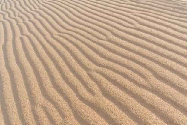 Волна текстуры песка. муйне, вьетнам, копия пространства