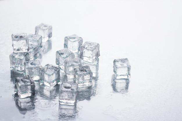 アイスキューブ 。冷却コンセプト、フードアイス。
