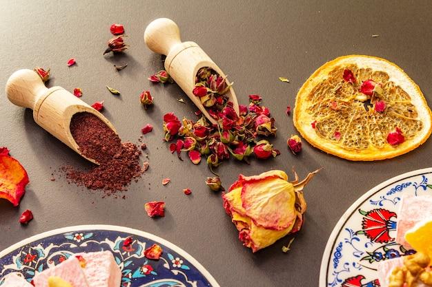 Восточные сладости. традиционное турецкое наслаждение