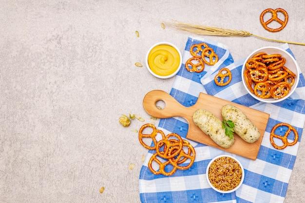 Октоберфест набор продуктов питания и напитков