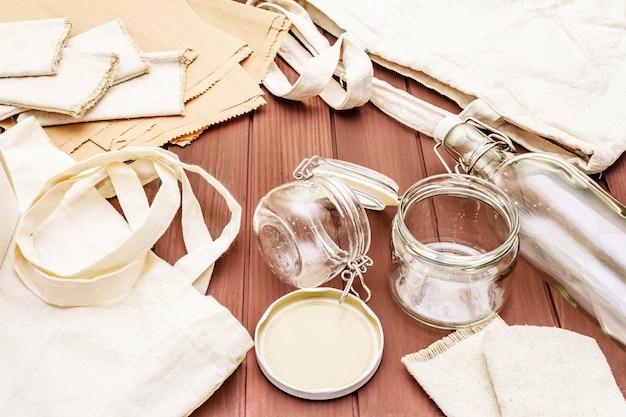 Ассортимент экологически чистой упаковки
