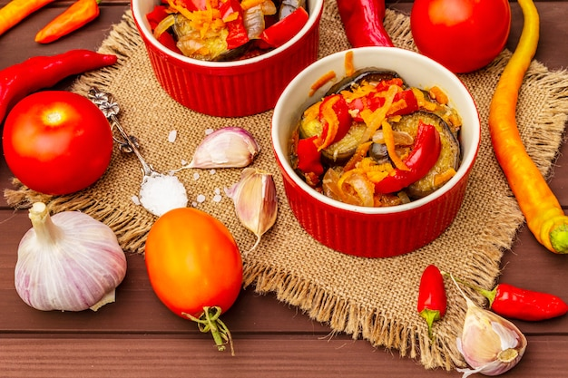 漬け野菜のマリネサラダ