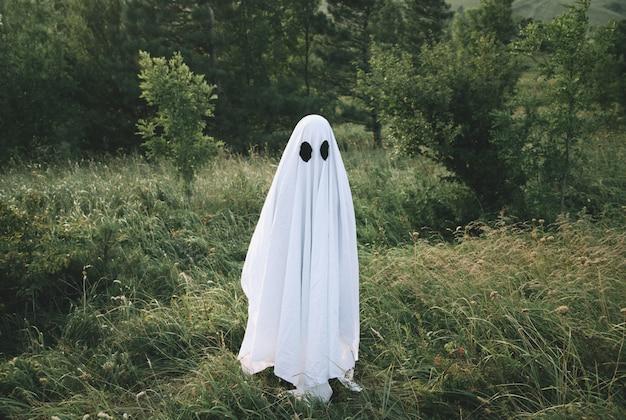 Маленький белый призрак