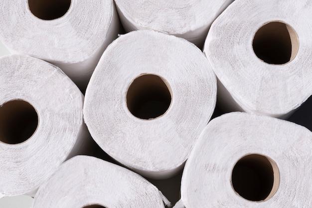 Шаблон рулонов туалетной бумаги