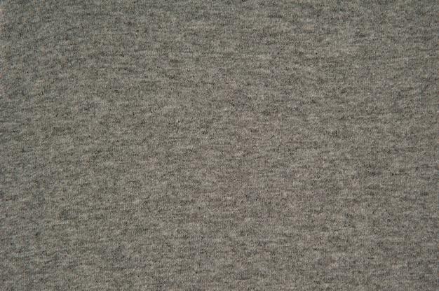 背景の灰色の布のテクスチャ