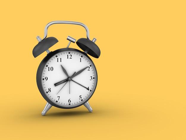目覚まし時計のレンダリング図