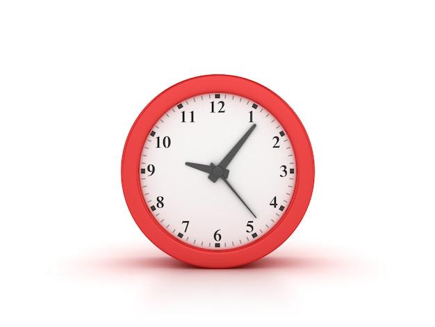 時計のレンダリング図