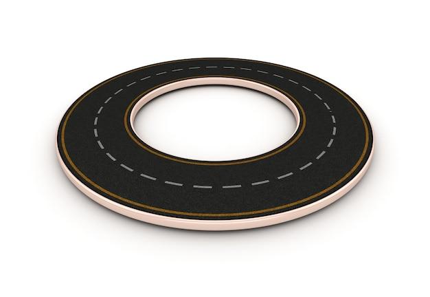 環状道路のレンダリング図