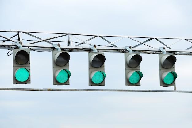 レーシング緑信号