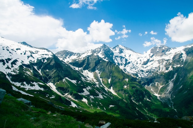 Скалистые горы пейзаж в австрии