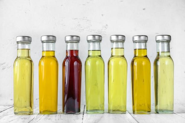 植物油の品揃え