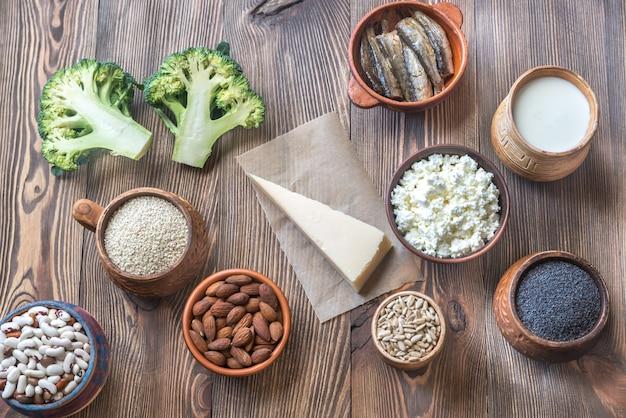カルシウムが豊富な食品