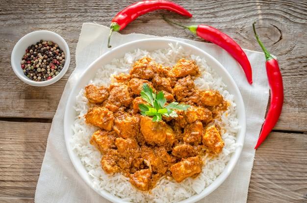 Индийское масло курица