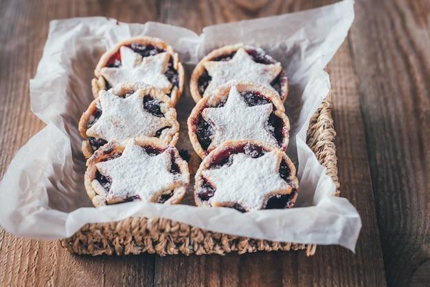 Фарш пироги - традиционная рождественская выпечка