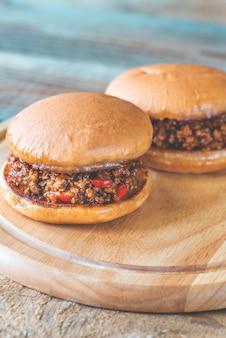 Слоппи джо - американский бутерброд