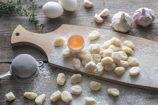 調理済みジャガイモのニョッキ
