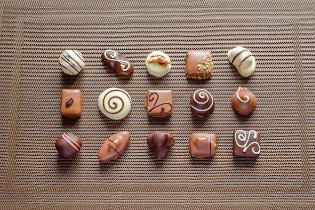 Роскошные шоколадные конфеты