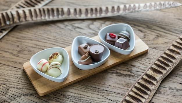 Швейцарские шоколадные конфеты