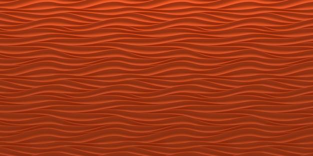 抽象的な赤い波背景
