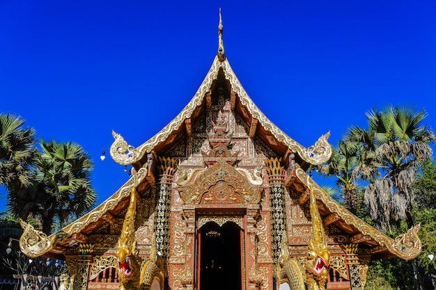 スリドンチャイ寺院、パイの寺院、メーホンソン