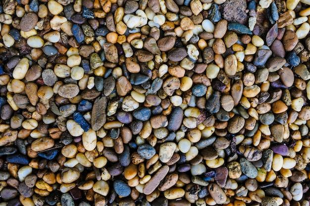 地面のテクスチャ表面の石の土の背景
