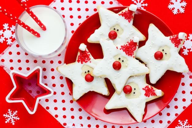 クリスマスクッキーサンタクロース