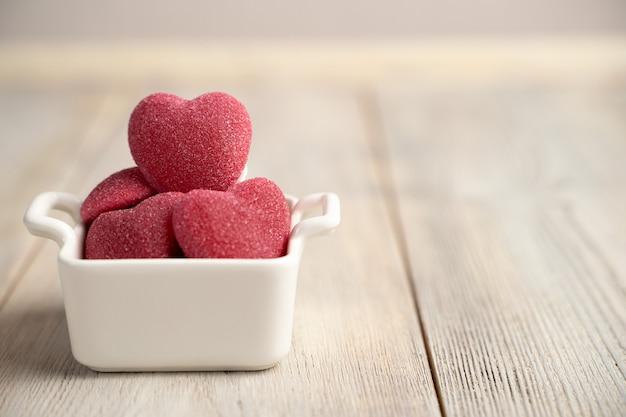 Мармеладные сердца