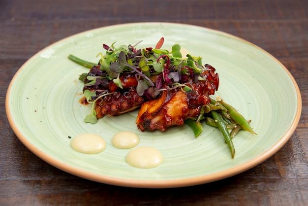 Галицкое блюдо из осьминога