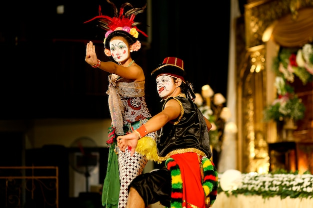 Эдана-эдананский танец, традиционный танец из джокьякарты