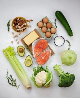 Кето диета концепция