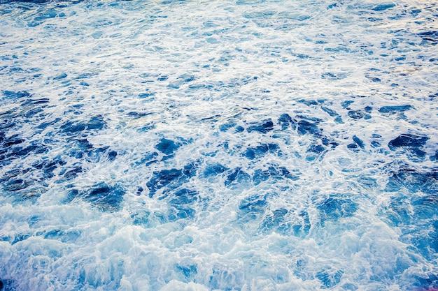 青い海の背景