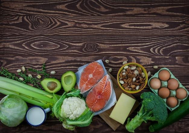 ケトジェニック低炭水化物ダイエットのコンセプト