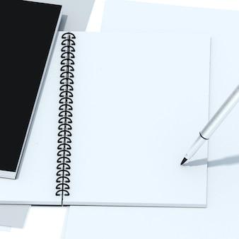 クリッピングパスを持つノートブック分離